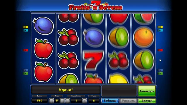 Бонусная игра Fruits' N Sevens 9