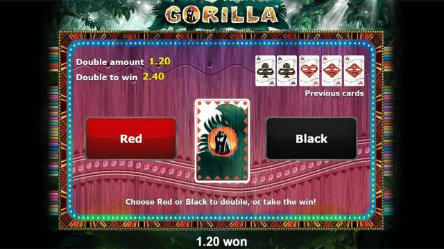 Бонусная игра Gorilla 3