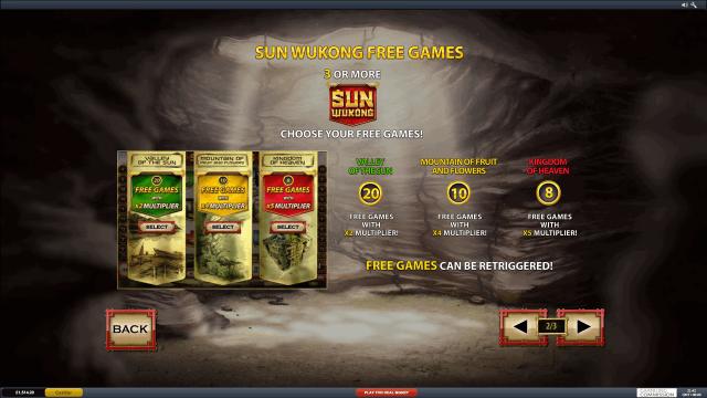 Характеристики слота Sun Wukong 7