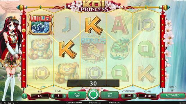 Бонусная игра Koi Princess 9