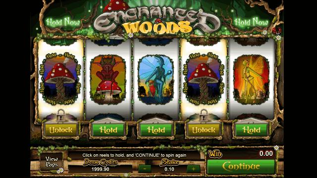 Бонусная игра Enchanted Woods 2