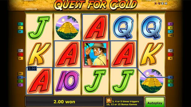Игровой интерфейс Quest For Gold 8