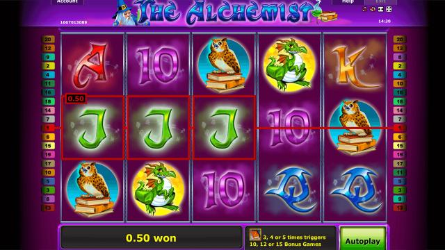 Игровой интерфейс The Alchemist 8