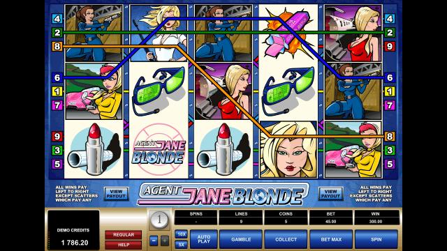 Игровой интерфейс Agent Jane Blonde 10