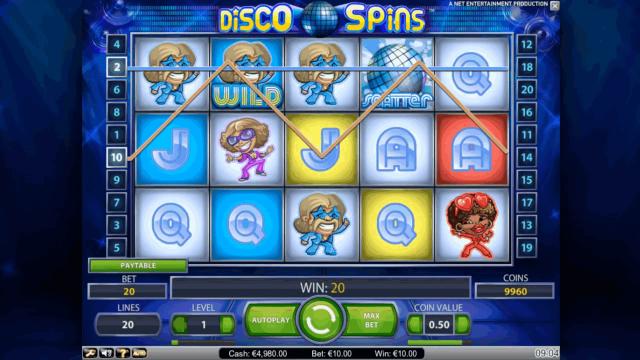 Бонусная игра Disco Spins 2