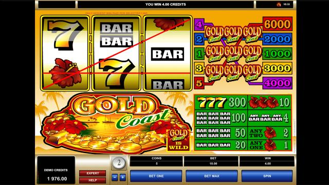 Бонусная игра Gold Coast 6