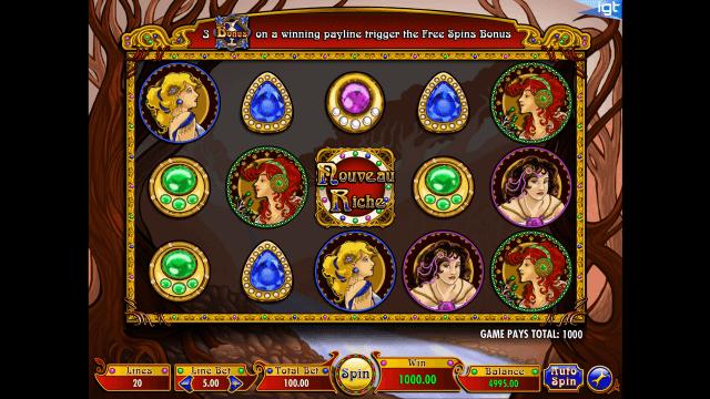 Игровой интерфейс Nouveau Riche 8
