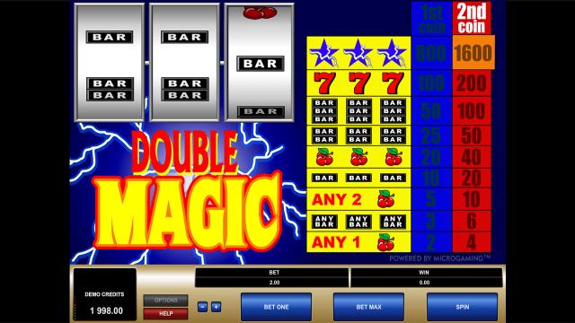 Бонусная игра Double Magic 1