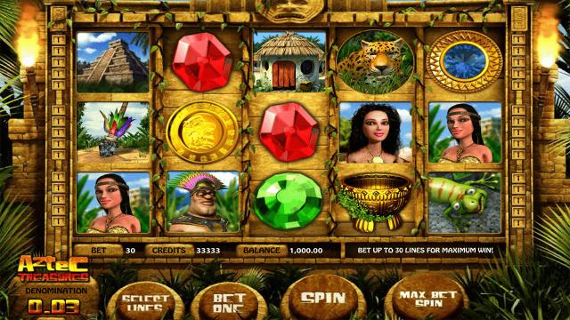 Бонусная игра Aztec Treasures 3D 1