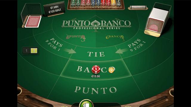 Игровой интерфейс Punto Banco Professional Series 2