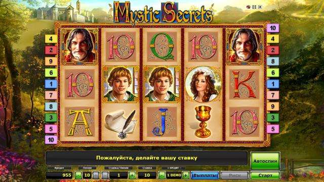 Бонусная игра Mystic Secrets 10