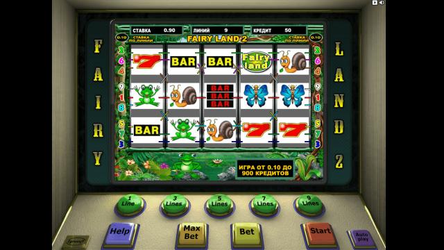 Игровой интерфейс Fairy Land 2 1