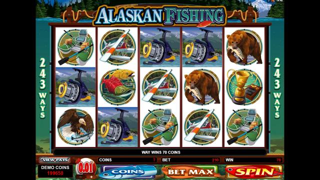 Бонусная игра Alaskan Fishing 9