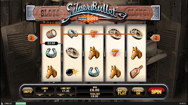 Игровой интерфейс Silver Bullet 7