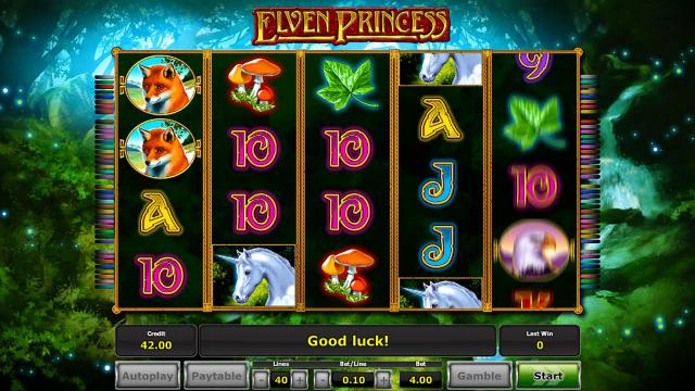 Игровой интерфейс Elven Princess 6