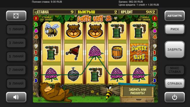 Игровой интерфейс Sweet Life 2 2