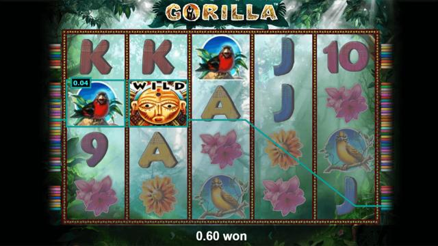 Бонусная игра Gorilla 1