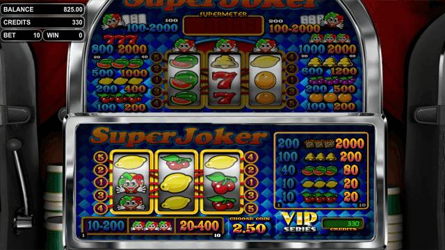 Бонусная игра Super Joker VIP 10