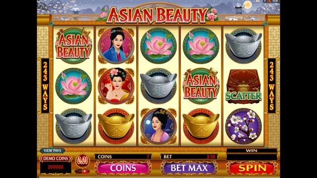 Характеристики слота Asian Beauty 6