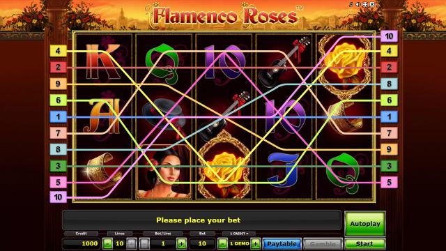 Бонусная игра Flamenco Roses 1