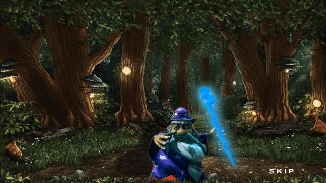 Игровой интерфейс Enchanted 1