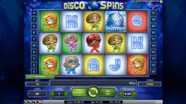 Бонусная игра Disco Spins 1