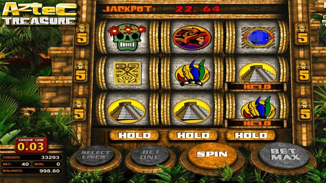 Игровой интерфейс Aztec Treasure 2D 2