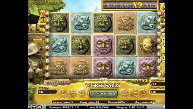 Характеристики слота Gonzo's Quest Extreme 7