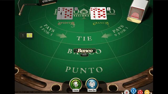 Игровой интерфейс Punto Banco Professional Series 1