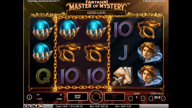 Бонусная игра Fantasini: Master Of Mystery 6