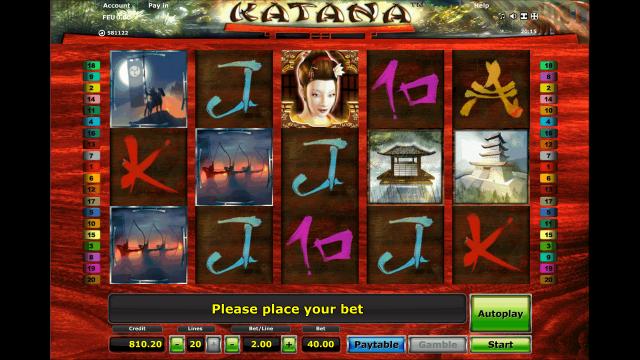 Бонусная игра Katana 10