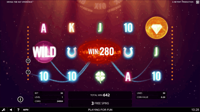 Игровой интерфейс Nrvna 7
