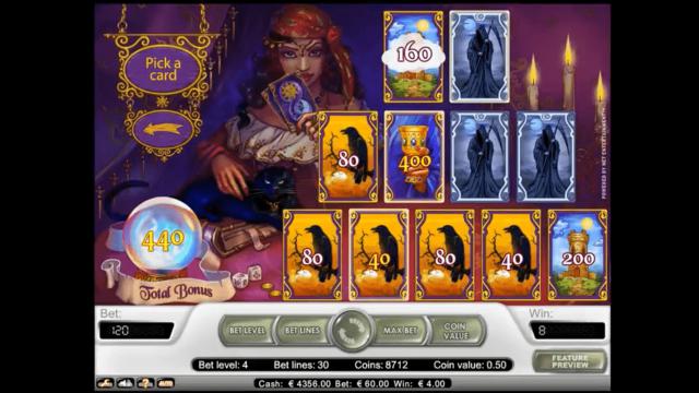 Бонусная игра Fortune Teller 8