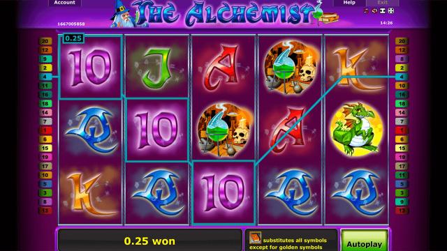 Игровой интерфейс The Alchemist 2