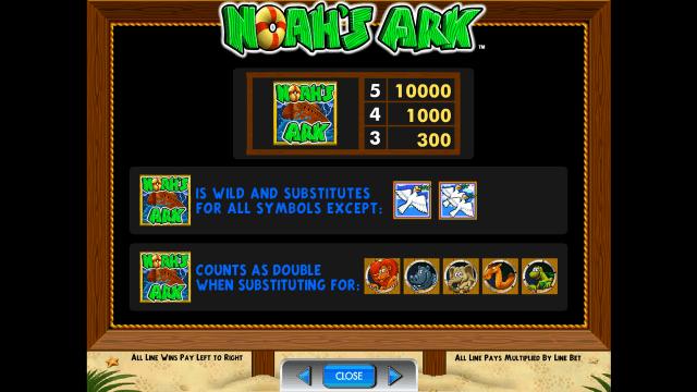Бонусная игра Noah's Ark 5