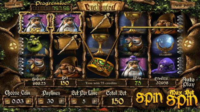 Бонусная игра Enchanted 9