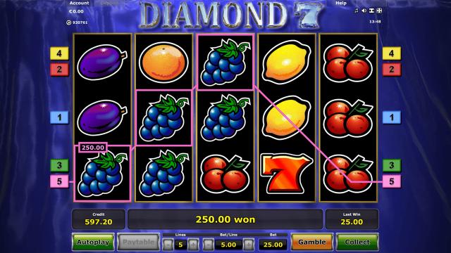 Игровой интерфейс Diamond 7 9