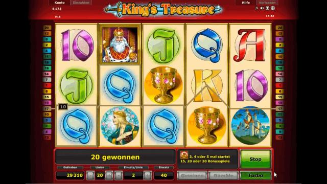 Характеристики слота King's Treasure 5