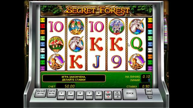 Характеристики слота Secret Forest 1