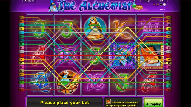 Бонусная игра The Alchemist 1