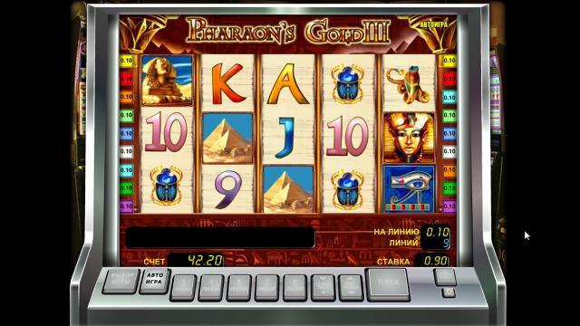 Игровой интерфейс Pharaoh's Gold III 8