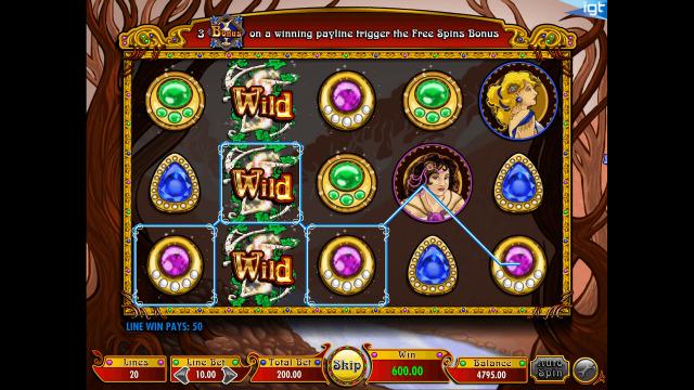 Бонусная игра Nouveau Riche 9