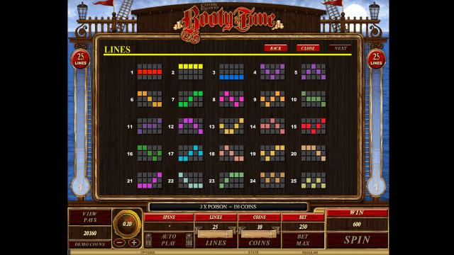 Игровой интерфейс Booty Time 8