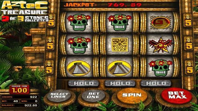 Характеристики слота Aztec Treasure 2D 9