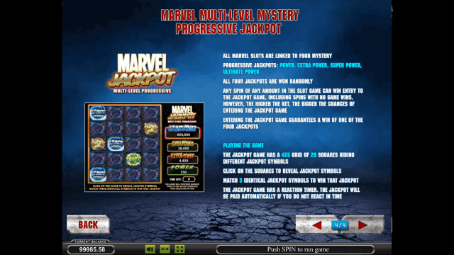 Характеристики слота Iron Man 2 10