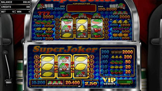 Бонусная игра Super Joker VIP 1