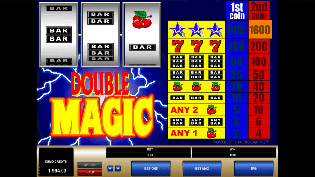Бонусная игра Double Magic 3