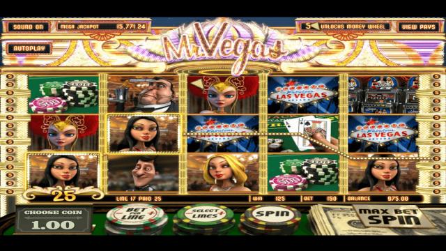 Бонусная игра Mr. Vegas 7