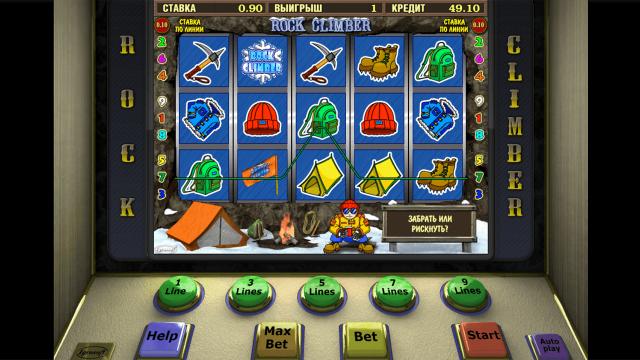 Игровой интерфейс Rock Climber 2