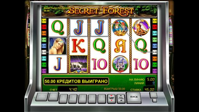 Бонусная игра Secret Forest 5